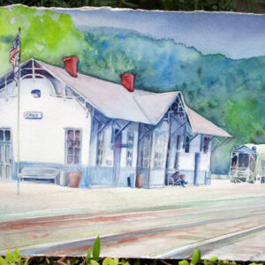 Art in Green Bank, local, art, artist, artists, Kathryn C. Gillispie, Pocahontas County, West Virginia, Marlinton, travel, tourism, vacation, getaway, shop, shopping, family, attraction, attractions, Snowshoe, fun,